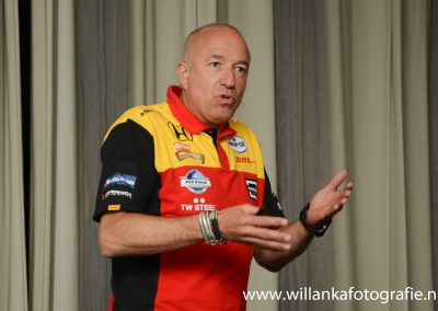 Tom Coronel geeft gas